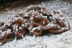 Snowy chains (charliejb) Tags: ssgreatbritain victorianchristmas christmas snow 2018 chains