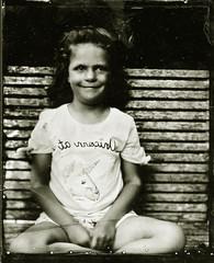 Elsie (fitzhughfella) Tags: tintype tinplate wetplate collodion silvernitrate ether largeformat 5x4 graflexspeedgraphic kodakaeroektar vintage