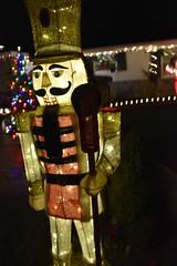 Nutcracker (earthdog) Tags: 2018 nikon nikond5600 d5600 18300mmf3563 christmas decoration light christmaslight sanjose willowglen nutcracker