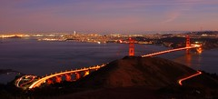 San Francisco Bay (martinlrosen) Tags: goldengatebridge sanfrancisco sanfranciscobay slackerhill marinheadlands california