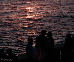 love (lauracastillo5) Tags: love couple sunset beach sea seascape ocean sunrise sunlight glow water people
