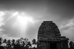 Pattadakal | 2018. (Vijayaraj PS) Tags: india nikond3200 asia incredibleindia outdoor clouds monochrome rock sky landscape 2018 pattadakal indianheritage