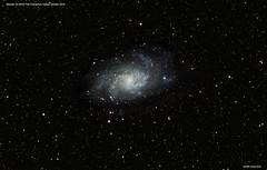 The Triangulum Galaxy - M33 NGC598 (Ralph Smyth) Tags: m33 triangulum ngc galaxy galaxies nikon d5300