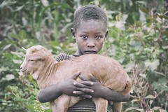 The Young Shepherd (Roberto Pazzi Photography) Tags: portrait people street outdoor sheep tribe omo valley child boy young son culture face africa photography place glance african one person ethnicity ethiopia half length tribal konso animal farmer shepherd nikon