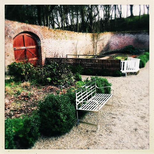 Winter in the Walled Garden