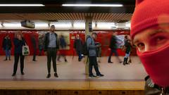 RedSubwayPeopleFIN (Ol_Z) Tags: newyork newyork2018 nyc peopleofnewyork nyc2018 streetphoto newyorkautumn streetpic bigapple subwaynyc newyorksubway selfie selfienyc selfienewyork