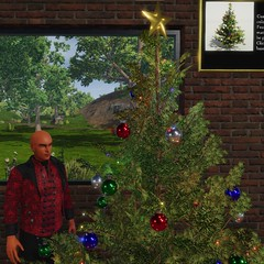 New Holiday Tree (Trilo Byte) Tags: sinespace virtual world madewithunity unity3d holiday tree xmas furniture pbr fun