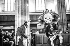 IMG_1662 (foretfantome) Tags: tibetan dance costume strasbourg tibet danse noir et blanc foret fantome guillermo gomez 5d mk 3 eglise church ethno bouddhisme
