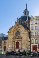 Temple du Marais / Протестантская церковь (dmilokt) Tags: город city town церковь храм собор church chapel kirk cathedral temple sanctuary shrine dmilokt