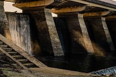 overflow of the upstream temporary dam (Stefan A. Schmidt) Tags: stockum reservoir