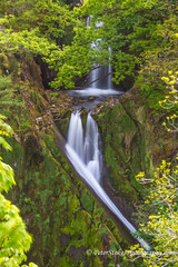 Llanberis Falls (Peter.Stokes) Tags: castles colour england europe flora landscape landscapes mountains narrowguage nature outdoors photo photography railway spring trains transport vacations waterfalls