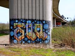 Terbregseplein (oerendhard1) Tags: graffiti streetart urban art rotterdam oerendhard illegal vandalism terbregseplein tee mdb
