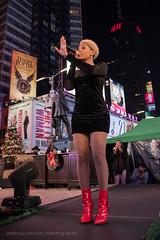 Bindi Liebowitz rocks Times Square (Narratography by APJ) Tags: iamnyc ltclive apj ny narratography places bindi nyc photography timessquare