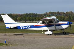 PH-FLE Cessna F.172N @ Lelystad 20-Oct-2018 by Johan Hetebrij (Balloony Dutchman) Tags: phfle cessna f172n flevo air c172 172 skyhawk lelystad ehle 2018 airport aircraft
