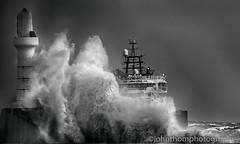 Stormy day (johnthomphotography) Tags: aberdeen aberdeenbeach scotland unitedkingdom waves storm sea