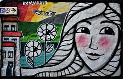 Costah Graffiti #2 - Porto (nagyistvan8) Tags: nagyistván porto portugália portugal portuguese nagyistvan8 graffiti costah színek colors fekete fehér sárga barna szürke kék blue black yellow brown zöld green grey piros red művészet art utca street streetart falfirka fal wall rajz utazás traveling spectacle látványosság híres famous extreme special különleges pattern texture háttérkép background bonjardim 2018 nikon