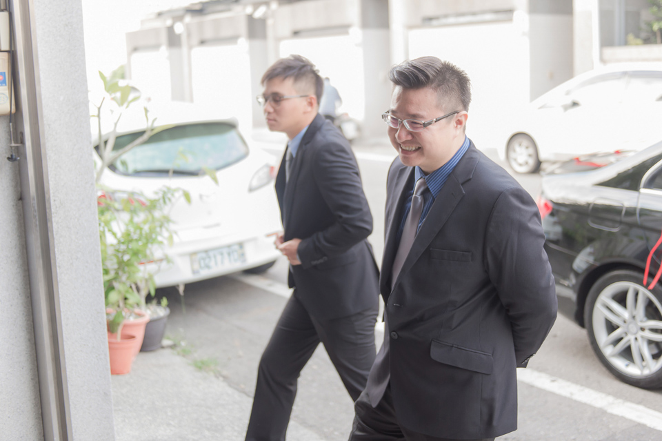 台南東東宴會式場 婚宴 走在幸福的紅毯上 R & B 014