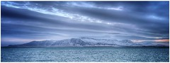 Ranges (Andy Stones) Tags: iceland reykjavik volcanic mountain ranges faxabay faxaloi mountesja vista snow sea seafront winter clouds cloudscape panoramic pano view scene scenic climate nature naturephotography naturelovers natureseekers cloud weather weatherwatch