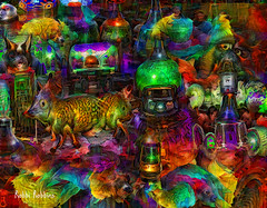 Future Chaos (brillianthues) Tags: abstract future colorful collage photography photmanuplation photoshop