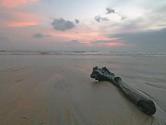 IMG_5881 ~ realiti dan fantasi (alongbc) Tags: sunrise coast seascape shoreline lanjut kualarompin rompin pahang malaysia travel place trip canon eos700d canoneos700d canonlens 10mm18mm wideangle