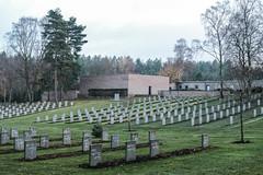 German war graves at Cannock cemetery (timnutt) Tags: memorial 35f2wr gravestone 35mm fujifilm german xt2 war graveyard chrome wargraves fuji cannockchase fujichrome staffordshire cemetery cannock commonwealth