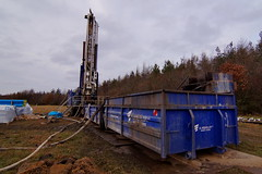 Bore rig (Steenjep) Tags: herning jylland jutland danmark denmark vand vandboring water waterdrilling drilling drill earth samples jord jordprøver ahøjfeldt