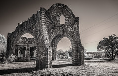 Outlaw Service Station (Rodney Harvey) Tags: abandoned gas station outlaw glen rose texas infrared rural decay