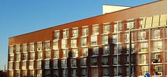 rastila3 (petra.wessman) Tags: apartment building rastila helsinki bostadshus balkong tegel rastböle asuintalo parveke