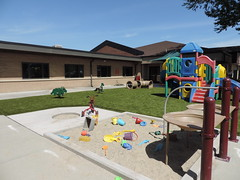 Child Development Center of Natrona County in Casper,  WY (ForeverLawn) Tags: ageinclusive playgroundgrass playgroundgrassbyforeverlawn premiumproduct foreverlawncentralwyoming accessibility wheelchairaccessible adaaccessible adacompliantpark park playgroundsurfacing playgroundsafety playground flcontest2018 playgroundgrassultra slide swings sesesaw teetertotter seesaw junglegym playset sand childdevelopmentcenterofnatronacounty