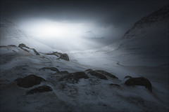 [ ... after dark ] (D-P Photography) Tags: landscape land fa faroeislands north skandinavia cold winter streymoy storm snow snowstorm dark glow feisol nature dennispolkläser dpphotography canon leefilters