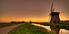 Sunset in Holland. (Alex-de-Haas) Tags: 11mm adobe blackstone d850 dutch hdr holland irix irix11mm lightroom nederland nederlands netherlands nikon nikond850 noordholland photomatix photomatixpro beautiful beauty drama dramatic landscape landschaft landschap lente lucht mill molen mooi nature natuur orange oranje polder skies sky skyscape spectaculair spectacular spring sun sundown sunset warm windmill windmolen zonsondergang