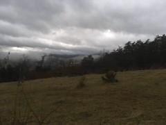 foggy mountain (GAWV) Tags: mountains mountain sunset fog graysky westvirginia appalachian appalachia sky keyser mineralcounty forest grass pasture winter clouds
