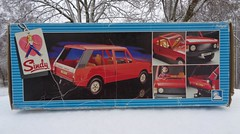 Pedigree Sindy Range Rover Box 1983 (CooperSky) Tags: pedigree sindy range rover box 1983 red car
