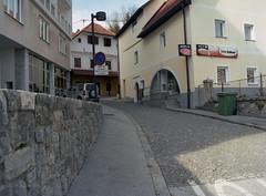 Agfa Image centre (Ernst-Jan de Vries) Tags: portra400vc expired film 120 mediumformat analogue analoog mittelformat middenformaat slovenië slovenia slovenija idrija agfa photostore shop kodak porta 400vc