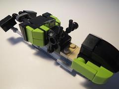 Lego Star Wars speeder MOC (LegoBuilder4) Tags: lego speeder