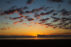 Sunrise in Mission Beach (locking_out) Tags: australia clouds landscape sunrise queensland travel missionbeach
