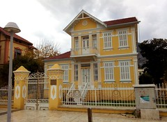 Milas is known for its colorful houses, especially yellow. (bryandkeith) Tags: turkey milas