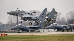 97-0222/LN F-15E EAGLE USAF (MANX NORTON) Tags: f22 raptor f35 lightning f15 eagle f16 falcon raf lakenheath usaf