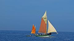 Toutes voiles dehors... (PACHA23) Tags: ciel océanatlantique bâteau voile bretagne