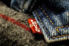 Reminisce -HMM (timvandenhoek1) Tags: cloth macromondays hmm happymacromonday levis bluejeanjacket macro meike16mmextensiontube sigma30mmf14dcdncontemporaryemount sonyilce6000 timvandenhoek midwest missouri denim denimjacket fabric vintage clothing textile