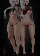 Fuk Thin (Dark Love store) Tags: maitreya hourglass physique freya isis venus secondlife clothes sexy dark