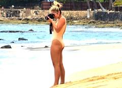 Take the shot (thomasgorman1) Tags: photographer photography camera woman nikon beach shore colors sand processed zoom candid public bikini