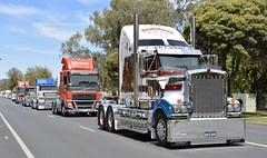 Dormans (quarterdeck888) Tags: trucks truckies transport australianroadtransport roadtransport lorry primemover bigrig overtheroad class8 heavyvehicle highway road truckphotos nikon d7100 movingtrucks jerilderietrucks jerilderietruckphotos quarterdeck frosty expressfreight generalfreight logistics overnightfreight highwayphotos semitrailer semis semi flickr flickrphotos convoyforkids convoy waggaconvoyforkids2018 riverinaconvoyforkids riverinatruckshow truckshow workingtrucks transportexpo dormans dormansmarketexpress kenworth t909 squaretanks