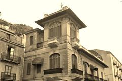 Cefalu, Belle Epoque house (Sokleine) Tags: cefalu sicilia sicile sicily italia italie italy italien eu europe décorarchitectural architecture belleepoque