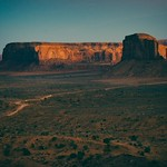 Monument Valley Sunset - Navajo Country - Arizona thumbnail
