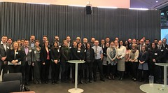 Family photo of the ITF-POLIS Joint Workshop (International Transport Forum) Tags: itf safercitystreets4thmeeting oecd roadsafety cycling 2018 polis