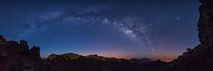Blue Milky Way (Rémi FERRIERI) Tags: milky way polution sony a7 astrophoto night nuit nightfoto nightphoto stars étoiles island canary islands rocks rochers spain espagne tokina firin 20mm voie lactée la palma