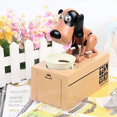 Robotic Hungry Hound Coin Bank For Kids (mywowstuff) Tags: gifts gadgets cool family friends funny shopping men women kids home