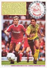 Liverpool vs Blackburn Rovers - 1991 - Page 20 (The Sky Strikers) Tags: liverpool blackburn rovers fa cup road to wembley the anfield review one pound