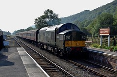 D6700 (paul_braybrook) Tags: class37 englishelectric type3 diesel nrm levisham northyorkshiremoors heritage railway trains